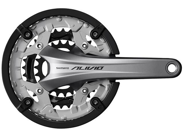 Shimano Alivio FC-T4060 Crankset 9-speed, 48-36-26 tanden, silver